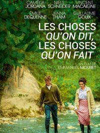 Movie poster of Les Choses qu'on dit, les choses qu'on fait