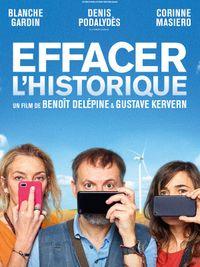 Movie poster of Effacer l'historique