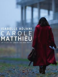 Movie poster of Carole Matthieu