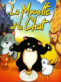 Movie poster of La Mouette et le chat