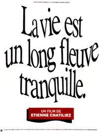 Movie poster of La Vie est un long fleuve tranquille