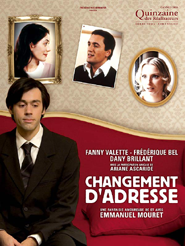 Movie poster of Changement d'adresse