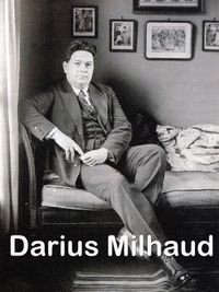 Movie poster of Darius Milhaud