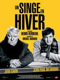Movie poster of Un singe en hiver