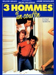 Movie poster of Trois hommes et un couffin