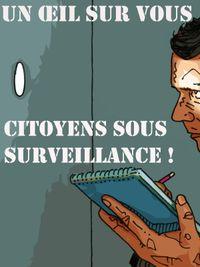 Movie poster of Un œil sur vous - Citoyens sous surveillance !