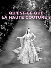 Movie poster of Qu'est-ce que la haute couture ?