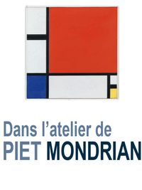Movie poster of Dans l'atelier de Mondrian
