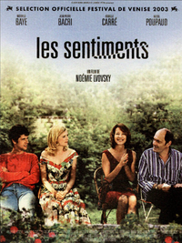 Movie poster of Les Sentiments