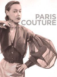 Movie poster of Paris couture 1945-1968