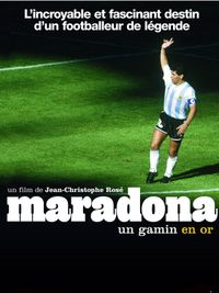 Movie poster of Maradona, un gamin en or