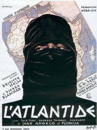 Movie poster of L'Atlantide