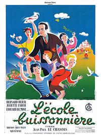Movie poster of L'Ecole buissonnière