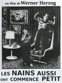 Movie poster of Les Nains aussi ont commencé petits