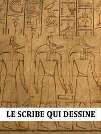 Movie poster of Le Scribe qui dessine