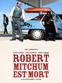 Movie poster of Robert Mitchum est mort