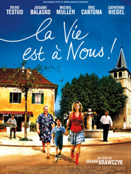Movie poster of La Vie est à nous !