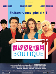 Movie poster of France boutique