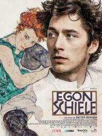 Movie poster of Egon Schiele