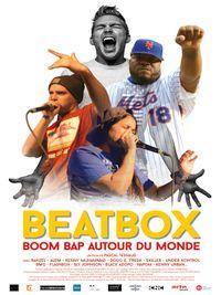 Movie poster of Beatbox, boom bap around the world