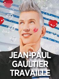 Movie poster of Jean-Paul Gaultier travaille