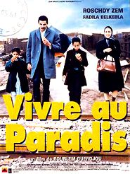Movie poster of Vivre au paradis