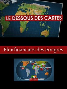 Le Dessous des cartes - Flux financiers des émigrés