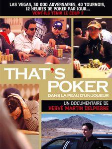 That's poker... dans la peau d'un joueur