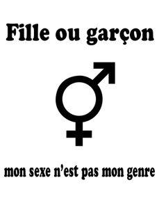 Image de Fille ou garçon, mon sexe n'est pas mon genre