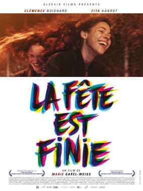 Movie poster of La Fête est finie