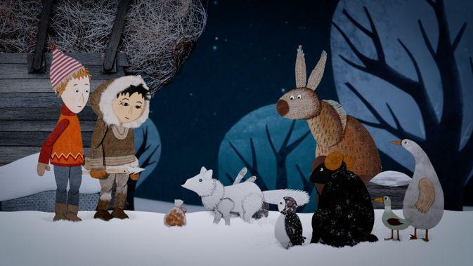Movie pictures Neige et les arbres magiques