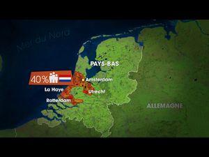 Movie pictures Dessous des cartes - Belgique, Pays-Bas : la mer monte