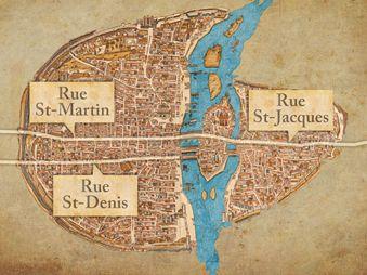 Movie pictures Le dessous des cartes - L'histoire de Paris 1/2
