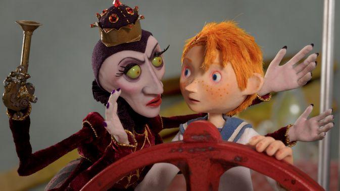 Movie pictures Capitaine Morten et la reine des araignées